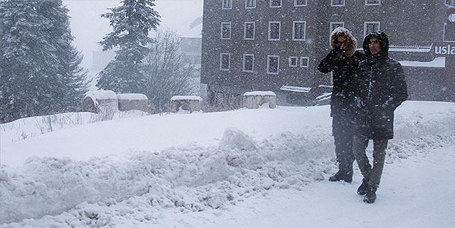 Uludağ'da kar kalınlığı ne kadar? İşte son durum