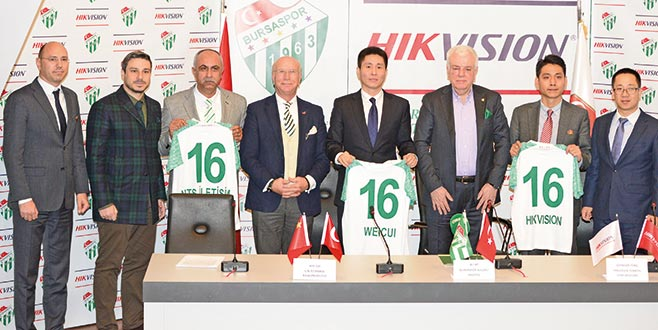 Bursaspor'da heyecanlandıran ortaklık