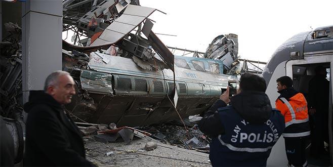 Ankara'da hızlı tren kazası: 9 ölü