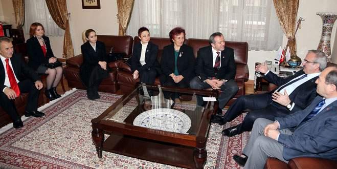 Vali Karaloğlu'na CHP'den ziyaret