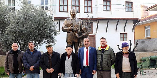 Tirilye Atatürk Parkı açılış için gün sayıyor