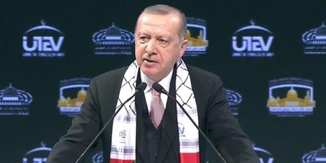 Erdoğan'dan Kudüs mesajı: Silemeyeceksiniz