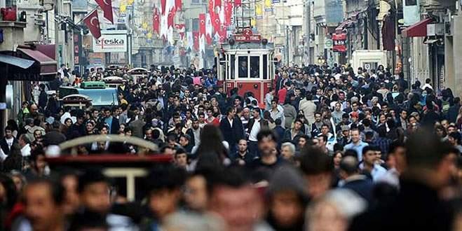Türkiye'nin 2014 yılındaki nüfusu belli oldu!