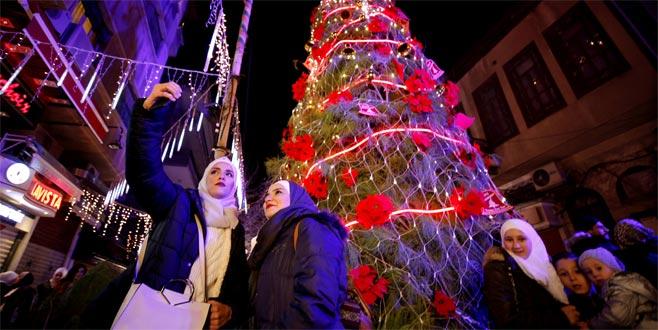 Şam'da yıllar sonra Noel heyecanı