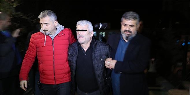 Polisten kaçamadı! Bursa'da yakalandı...