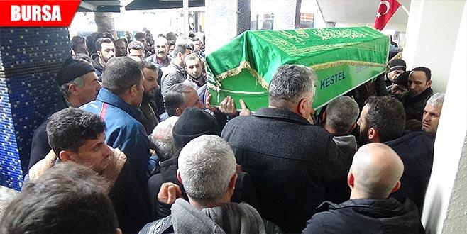 Hamam faciasında ölen kişi son yolculuğuna uğurlandı