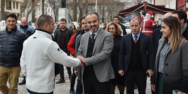 Bursa ve Mudanya projelerini anlattı