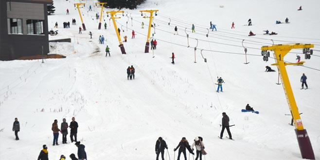 Uludağ'da son durum! Kar kalınlığı ne kadar?