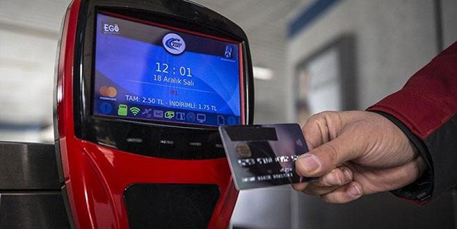 Ankara'da kredi kartıyla toplu ulaşım dönemi başlıyor