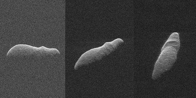 NASA görüntüledi: Dünyaya doğru yaklaşıyor