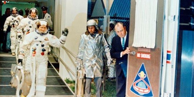 Ay'a giden ilk astronotlardan Bill Anders: Mars'a insan göndermek aptalca bir fikir
