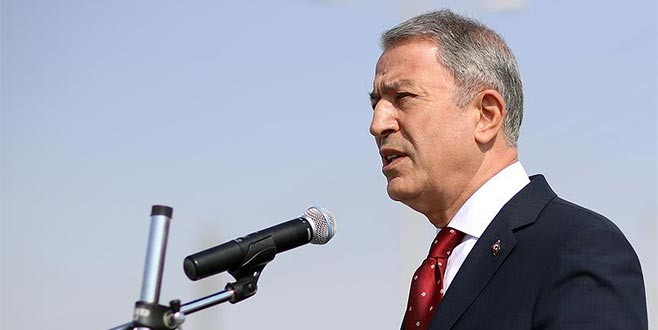 Hulusi Akar'dan net mesaj: Güvenli bölgede sadece Türkiye olmalıdır