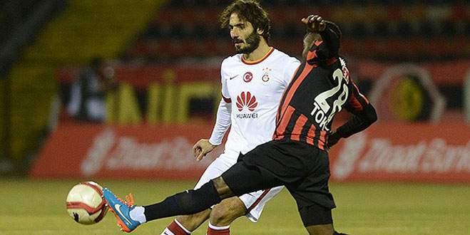 Galatasaray, Eskişehirspor'a 1-0 mağlup oldu