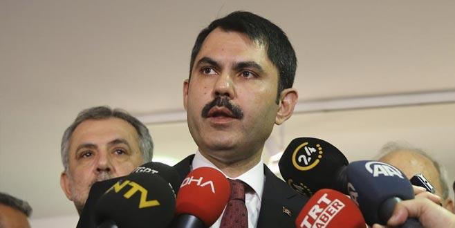 Bakan'dan 'kentsel dönüşüm' açıklaması