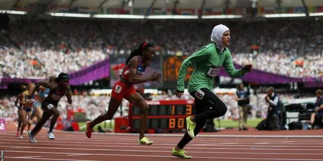 'Kadınlar olimpiyatlarda yer almasın'