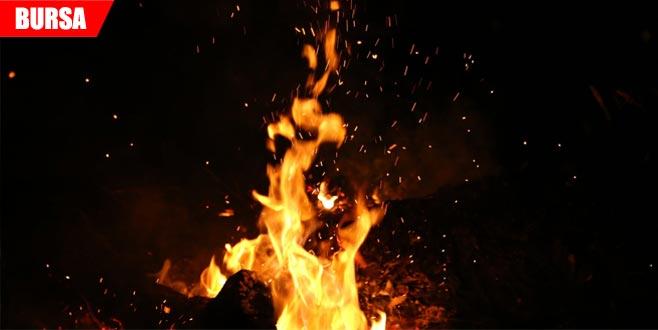 Yürek yakan yangın: 1 ölü