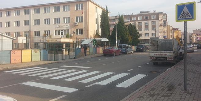 Gürsu caddelerinde trafik düzenlemesi
