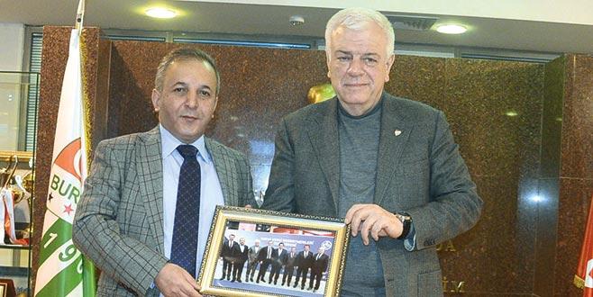 Bursaspor'aönemli konuk