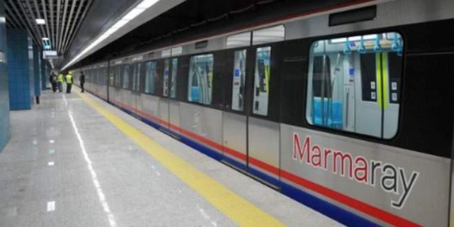 Marmaray 15 dakika durdu