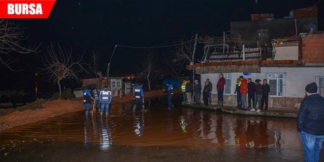 Su seviyesi yükselince önlem alındı