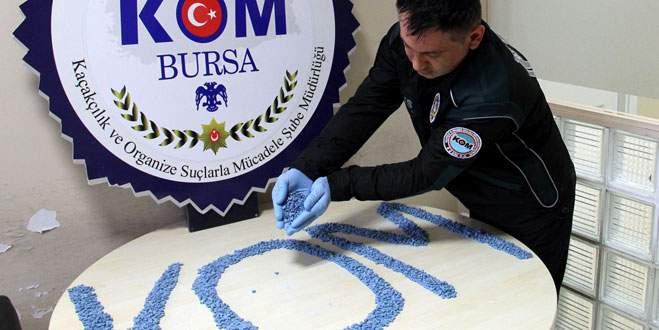 Bursa'da zehir tacirlerine operasyon!