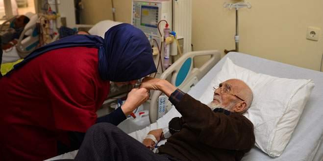 Diyaliz hastalarına moral ziyareti