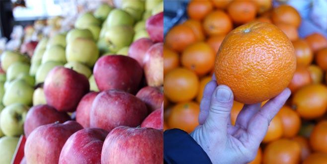 Elma ve portakalda rekor!
