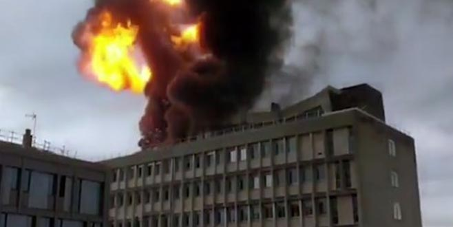 Fransa'da üniversitede doğalgaz patlaması