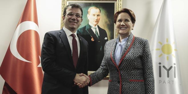 Ekrem İmamoğlu'dan Meral Akşener'e ziyaret