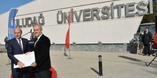 Uludağ Üniversitesi'nin kapısı Büyükşehir'den