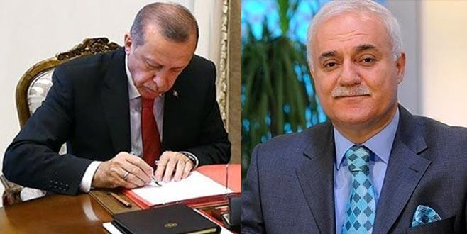 Erdoğan'dan 6 atama: Nihat Hatipoğlu rektör oldu
