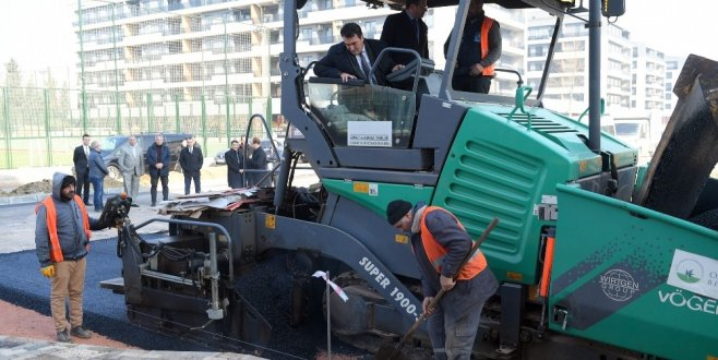 Osmangazi'den 1 yılda 130 bin ton asfalt