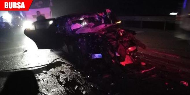 Sis kazaya neden oldu: 1'i ağır 3 yaralı