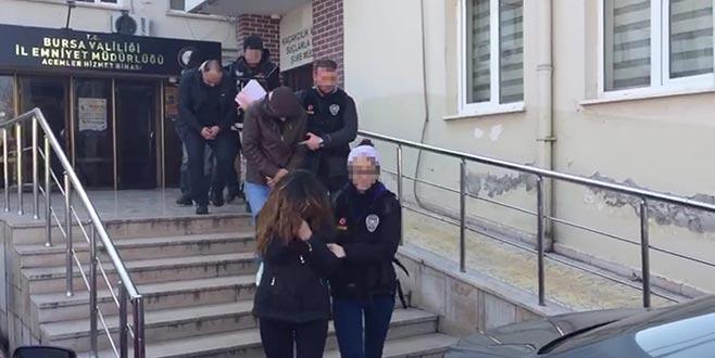 Bursa'da zehir tacirlerine geçit yok: 11 gözaltı