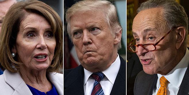 Trump'ın inadı! Pelosi'yigöndermedi