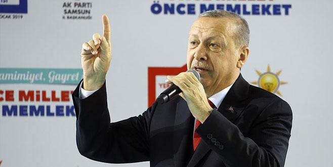 Erdoğan AK Parti'nin Samsun adaylarını açıkladı