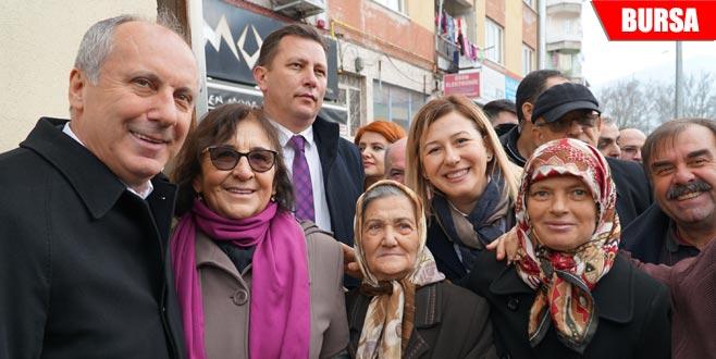 İnce'den partisinin adaylarına destek