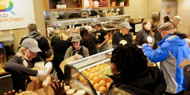 ABD'li memurlara gıda yardımı