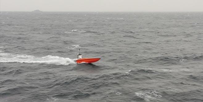 Albatros'u fırtına da durduramadı
