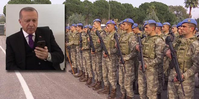 Cumhurbaşkanı Erdoğan'dan Afrin kahramanlarına telefon sürprizi