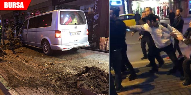 Alkollü sürücü linç edilmekten son anda kurtuldu