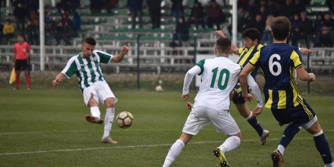 U21 Ligi'nde kazanan Bursaspor!