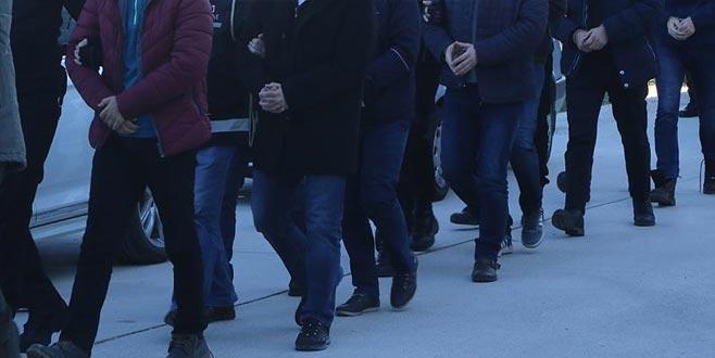 Dev operasyonun Bursa ayağında 27 gözaltı