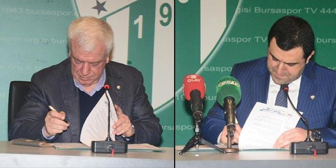 Bursaspor'dan kardeşlik protokolü