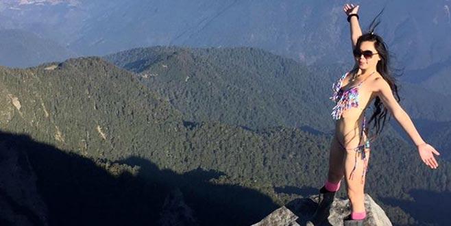 'Bikinili dağcı'tırmanışta öldü