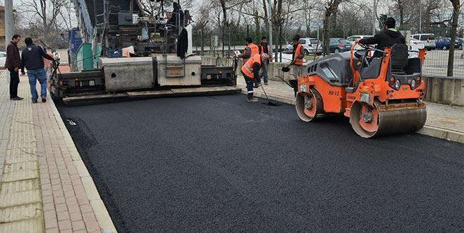 Osmangazi'den 1 yılda130 bin ton asfalt