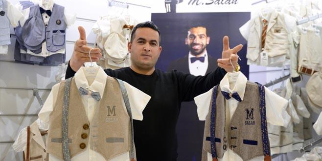 Bursa'da üretilen 'M. Salah' markalı ürünlere Arap ilgisi