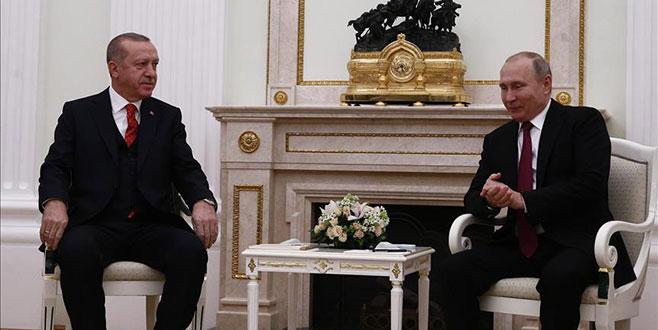 Cumhurbaşkanı Erdoğan-Putin görüşmesi başladı
