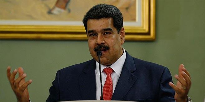 Maduro'ya desteklerini açıkladılar