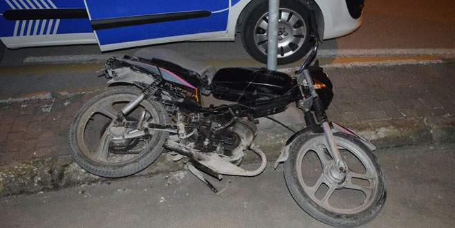 Bursa'da polis ile sürücü arasında kovalamaca